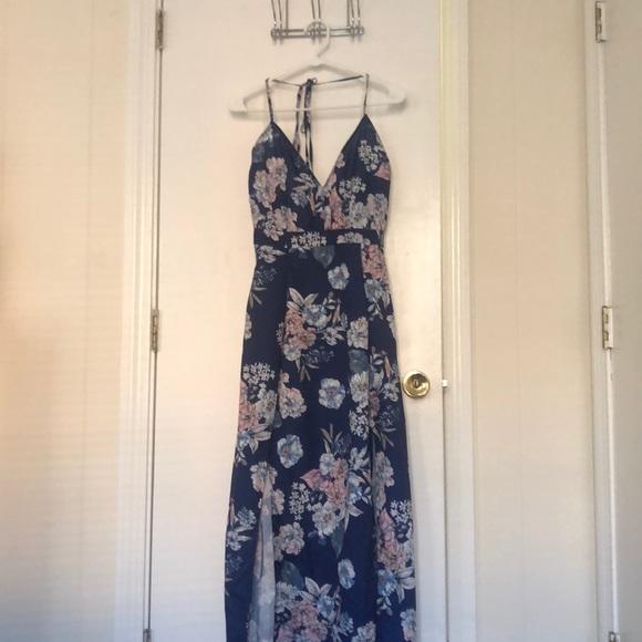 Parisian Works Dresses & Skirts - Parisian Halter top maxi dress, US size 10